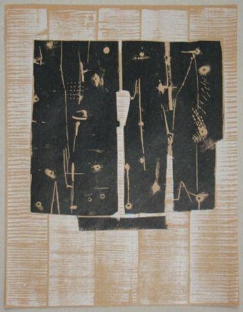 Incisione Su Legno Consagra - Gravure sur bois pour XXe Siècle