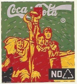 Litografia Guangyi - Great criticism - Coca Cola