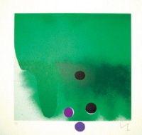 Acquaforte E Acquatinta Pasmore - Green Darkness