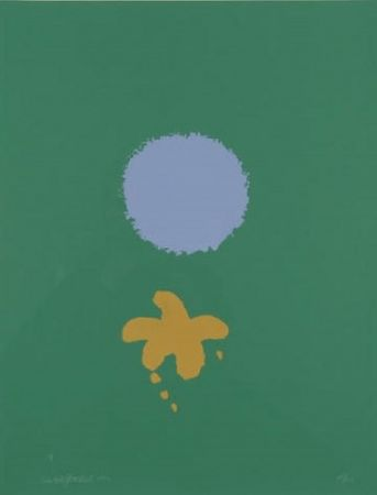 Multiplo Gottlieb - Green Ground Blue Disc