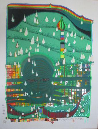 Serigrafia Hundertwasser - Green Power