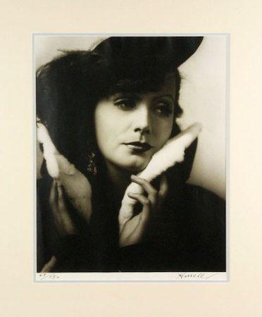 Fotografie Hurrell - Greta Garbo