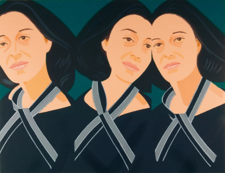 Serigrafia Katz - Grey Ribbon