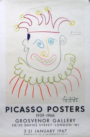 Litografia Picasso - Grosvenor Gallery, London 1967 ed.150 !