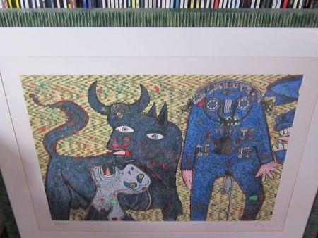 Serigrafia Baj - Guernica