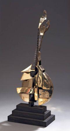 Litografia Arman - Guitare Portugaise