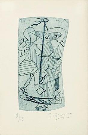 Incisione Braque - Héraclite d'Ephèse
