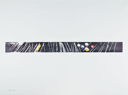 Incisione Su Legno Hartung - H 1973-23