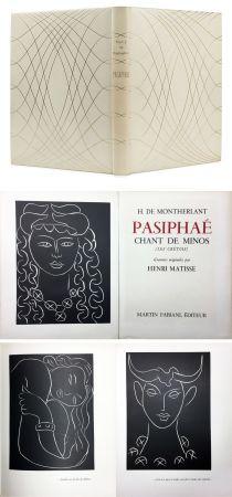 Libro Illustrato Matisse - H. de Montherlant: PASIPHAE. Chant de Minos. (Les Crétois) Gravures originales d'Henri Matisse (1944).