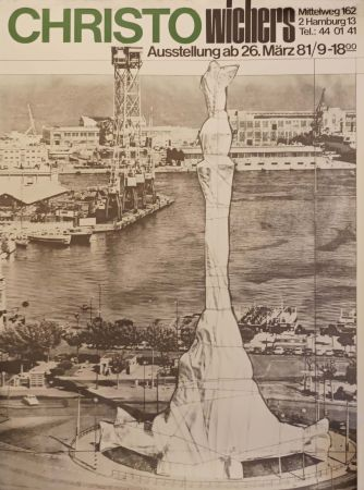 Manifesti Christo - '' Hamburg ''