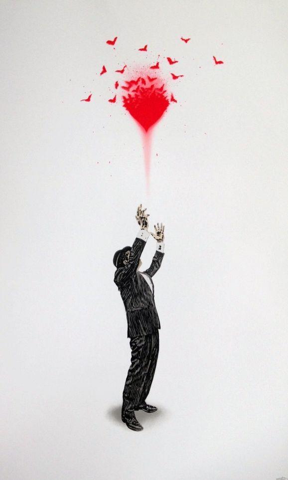Serigrafia Walker - Haunted Love