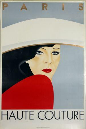 Litografia Razzia - Haute Couture  Paris