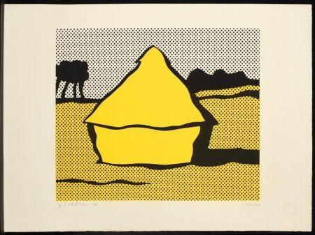 Serigrafia Lichtenstein - Haystack