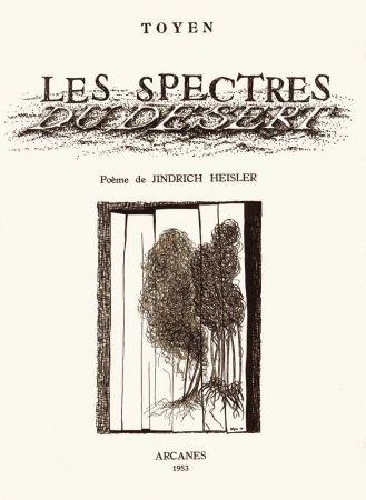 Libro Illustrato Toyen - HEISLER (Jindrich). Les Spectres du désert.