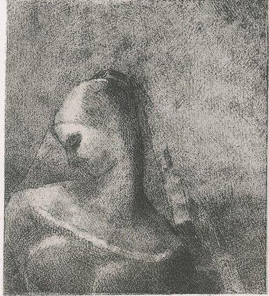 Litografia Redon - Helene (Ennoia)