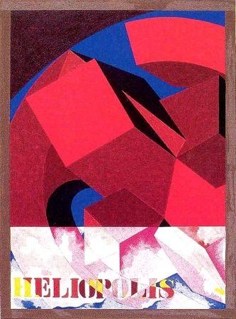 Serigrafia Pomodoro - Heliopolis 1998