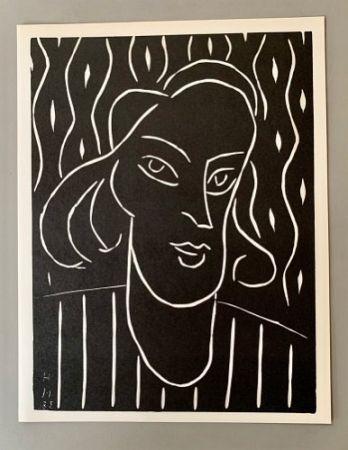 Linoincisione Matisse - Henri Matisse -'Linocut' 'Teeny' 1938