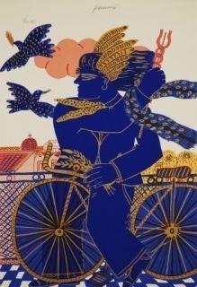 Serigrafia Fassianos - Hermes