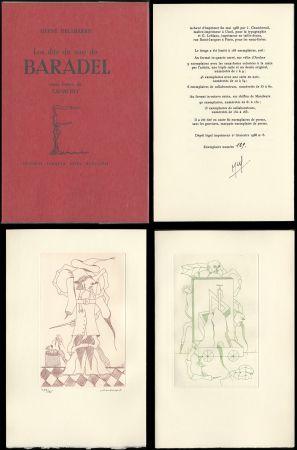 Libro Illustrato Camacho  - Hervé Delabare : Les dits du sire de BARADEL. Eaux-fortes de Camacho (1968).