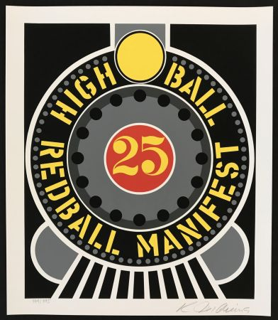 Serigrafia Indiana - Highball on Redball Manifest