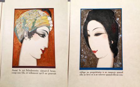 Libro Illustrato Schmied - HISTOIRE DE LA PRINCESSE BOUDOUR. Conte des mille et une nuits. (1926)