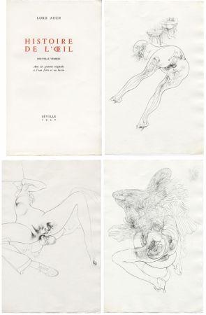 Libro Illustrato Bellmer - HISTOIRE DE L'OEIL. Nouvelle version. Avec six gravures originales à l'eau-forte et au burin.