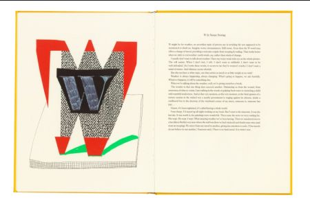 Multiplo Hockney - Hockney's Alphabet. 1991. Signed.