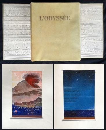 Libro Illustrato Schmied - HOMÈRE : L'ODYSSÉE (1930-1933). L'exemplaire du traducteur de référence.