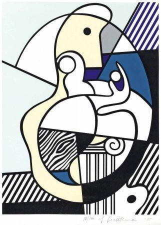 Serigrafia Lichtenstein - Homage To Max Ernst