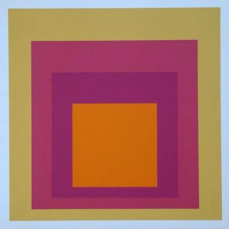 Serigrafia Albers - Homage to the Square - La Tehuana, 1951-1956