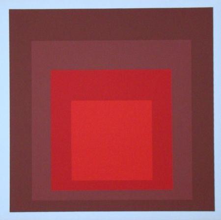 Serigrafia Albers - Homage to the Square - R-I d-5, 1969