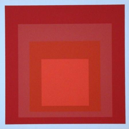 Serigrafia Albers - Homage to the Square - R-III a-4, 1968