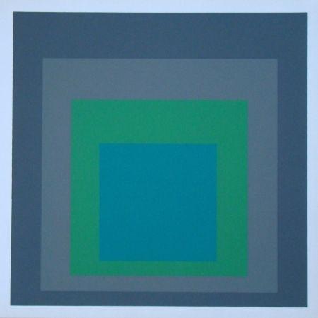 Serigrafia Albers - Homage to the Square - Renewed Hope, 1962