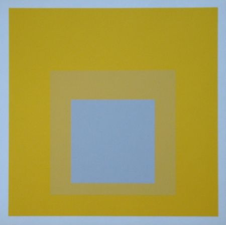 Serigrafia Albers - Homage to the Square - Selected, 1959