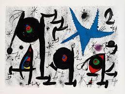 Litografia Miró - Homenaje a Joan Prats