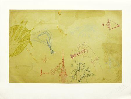 Acquaforte E Acquatinta Ponç - Homenaje a Marcel Duchamp
