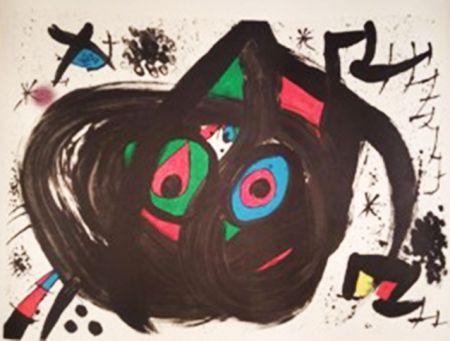 Litografia Miró - Homentage a Joan Prats
