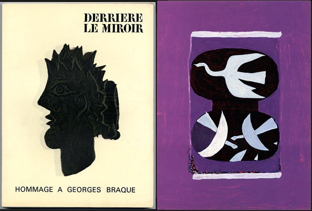 Libro Illustrato Braque - HOMMAGE À GEORGES BRAQUE. Derrière le miroir N°144-145-146. Mai 1964.
