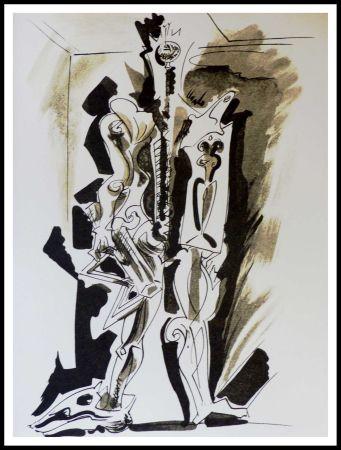 Litografia Masson - Hommage à Dorothea Tanning