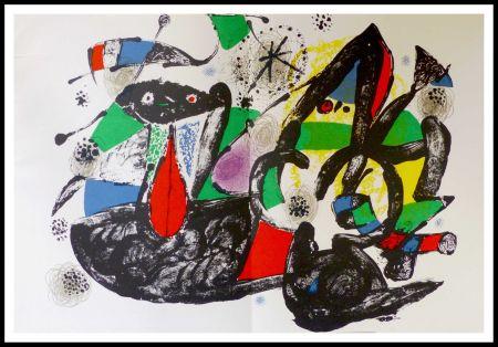 Litografia Miró - Hommage à Dorothea Tanning