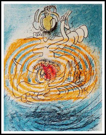 Litografia Matta - Hommage à Dorothea Tanning