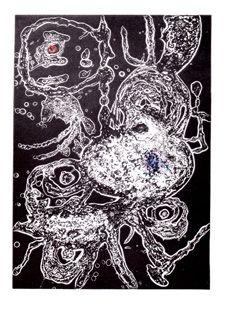 Incisione Miró - Hommage à Miro