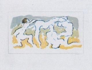 Litografia Tanning - Hommage à Penrose