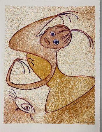 Litografia Ernst - Hommage à San Lazzaro