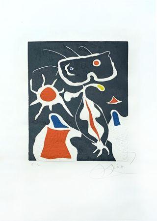 Incisione Miró - Hommage à San Lazzaro