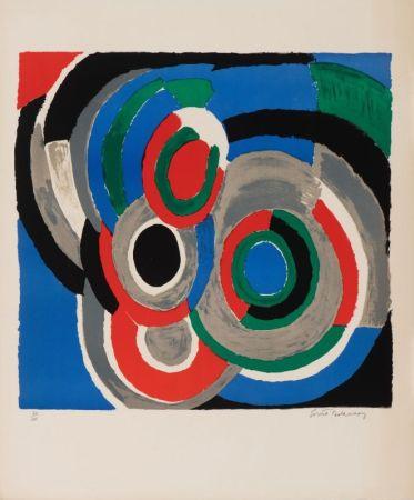 Litografia Delaunay - Hommage à Stravinsky
