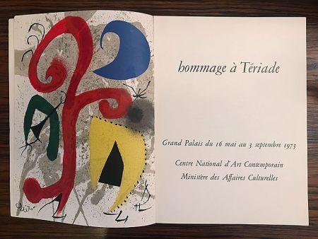 Litografia Miró - Hommage à Teriade