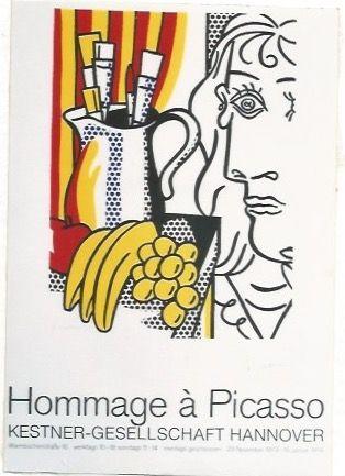 Manifesti Lichtenstein - Hommage á Picasso