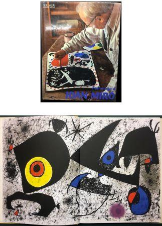 Libro Illustrato Miró - HOMMAGE A JOAN MIRÓ - XXe Siècle - N° spécial 1972