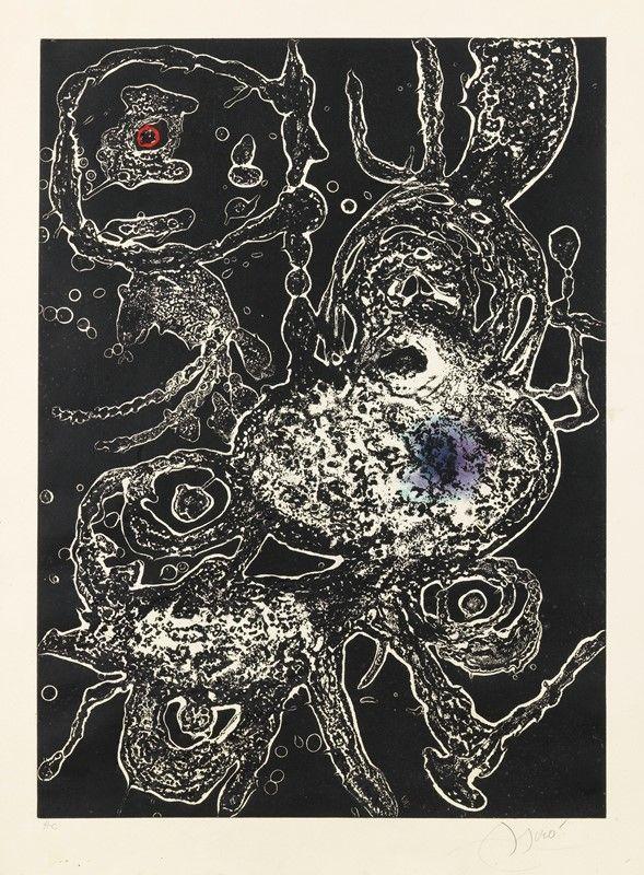 Carborundum Miró - Hommage a Joan Mirò